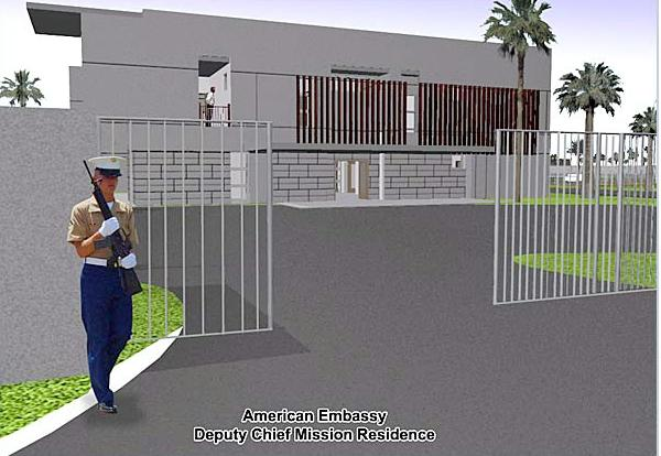 The new us embassy in baghdad for Who is a consular