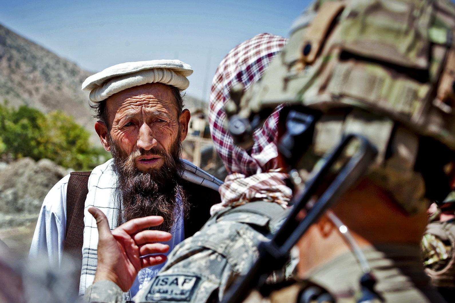 Afghan-elder