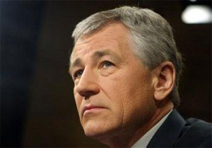 New Defense Secretary Chuck Hagel