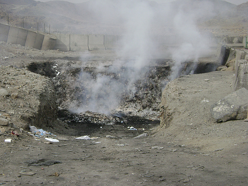 Fob Salerno Incinerators The Fob Salerno Burn Pit