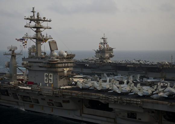 Gulf Aircraft carrier