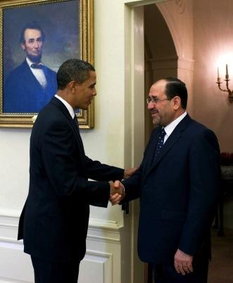 Maliki Obama Iraq