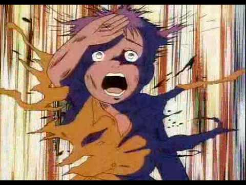 "Atomic Bomb Scene from the Animated Film ""Barefoot Gen"""