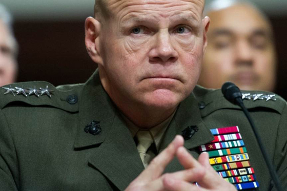 General Robert Neller, the Commandant of the Marine Corps